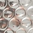 Argent métallisé - bulle